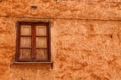 Window. Wall Italy Sicily old Royalty Free Stock Image