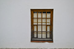 Window in a wall Royalty Free Stock Photo