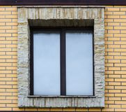 Window and Wall of an Old Stone Cottage House close up. Window and Wall of an Old Stone Cottage House Royalty Free Stock Photography