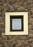 Window and Wall of an Old Stone Cottage House close up. Window and Wall of an Old Stone Cottage House Stock Image