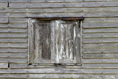 The window and wall old wood