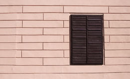 Window in the wall - RAW format Royalty Free Stock Photo