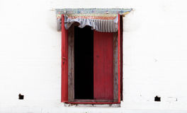 Window on a wall Royalty Free Stock Images