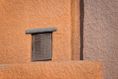 Window and wall. Window and tradititional house in Egypt Royalty Free Stock Photography