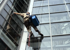 Free Window Washer Royalty Free Stock Image - 1537606