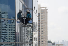 Window Washer Stock Images
