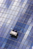 Window washer Royalty Free Stock Images