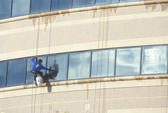 Window washer Royalty Free Stock Photos