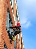Window washer Royalty Free Stock Photo