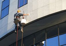 Free Window Washer Royalty Free Stock Images - 878729