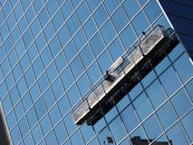 Window Washers Royalty Free Stock Photos