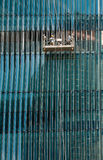 Window Washers royalty free stock image