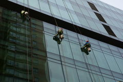 Window washers Stock Images