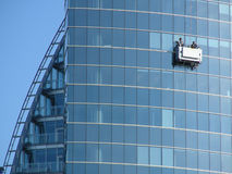 Free Window Washers Royalty Free Stock Photography - 721457