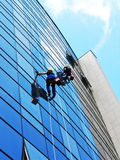 Window washers Royalty Free Stock Image