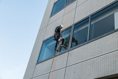 Window Washers Royalty Free Stock Photography