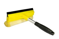 Window washing brush Stock Photography