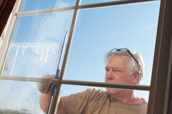 Window washwer Royalty Free Stock Photography