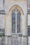 Window of Wells cathedral Royalty Free Stock Images