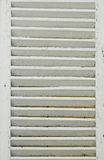Window with white shutters Royalty Free Stock Photography