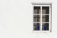 Window in white wall Royalty Free Stock Photography