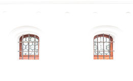 Window in white wall Royalty Free Stock Image