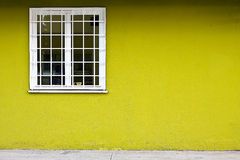 Free Window With Bars On Green Wall Stock Photo - 16669670