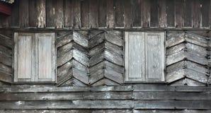 Window Wood. Wall and window wood Stock Photos
