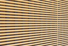 Window wooden blind clos - up Royalty Free Stock Images