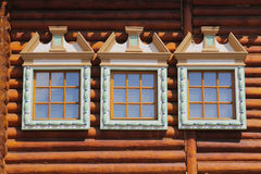 Window wooden house Royalty Free Stock Photo