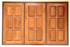 Window wooden Royalty Free Stock Photos