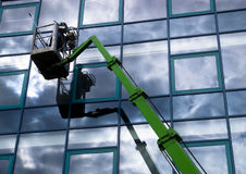 Windowclean Royalty Free Stock Photo