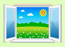 WindowDay Royalty Free Stock Images