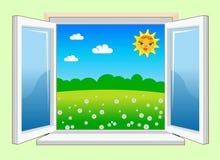 WindowDay Imagens de Stock Royalty Free
