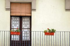 Windowdoor in spain Stock Photos