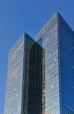 windowed glass hög stigning arkivbilder