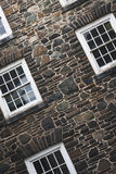 windowed kamienna ściana Zdjęcie Stock