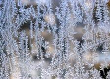 Windowglass congelados Fotos de Stock