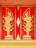 Windown of thailand temple Stock Photos