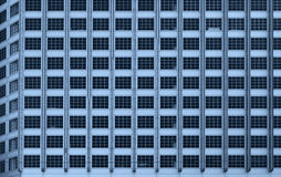Windows办公楼背景 免版税图库摄影