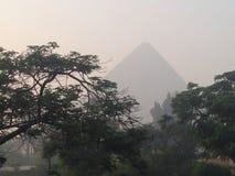 Windows向古埃及 库存照片