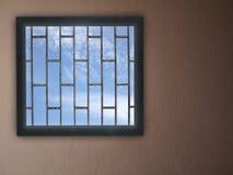 Windows和蓝天 免版税库存图片