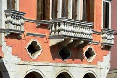 Windows在威尼托 免版税库存图片