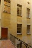 Windows在尼斯法国 免版税图库摄影