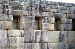3 Windows马丘比丘,秘鲁 免版税库存图片