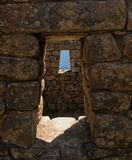 Windows à l'horizon lointain Photographie stock libre de droits