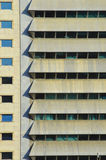 Windows à la construction moderne Image libre de droits