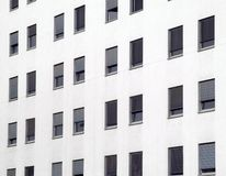 Windows à la maison moderne Image stock
