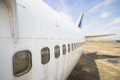 Windows αεροπλάνων Στοκ Εικόνες