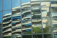 Windows αντανακλάσεων Στοκ εικόνες με δικαίωμα ελεύθερης χρήσης